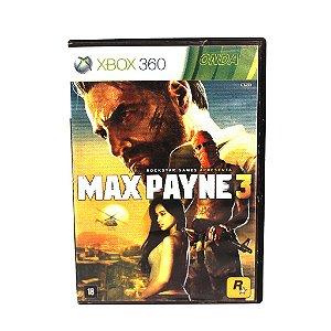 Jogo Xbox 360 Max Payne 3 (Seminovo)
