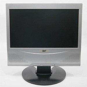 "Monitor LCD Positivo lBM 1560W 15.6"" pol. Usado"