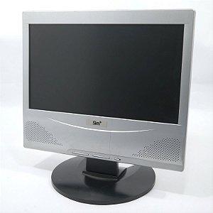 """Monitor de PC Positivo lBM 1560W 15.6"""" pol. Usado"""