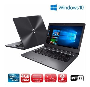 Notebook Positivo Intel Dual Core 4gb Windows 10