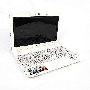 Notebook pequeno LG X140 2GB HD 320gb Com detalhe