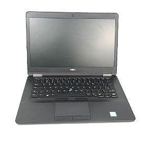 notebook para trabalho Dell Core i5 8GB SSD 250 win 10