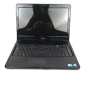 Notebook Core i3 4gb hd 500 win 10 com detalhe!