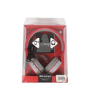 Fone de ouvido Wireless MS-881A Bluetooth