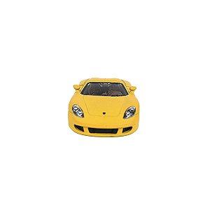Carrinho de brinquedo Porsche Carrera GT amarelo