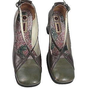 Sapato Selo de controle verde 35