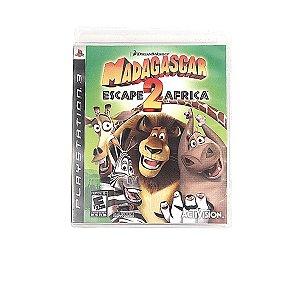 Jogo Madagascar Escape Africa 2 para PS3