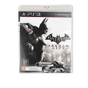 Jogo Batman Arkam City para PS3
