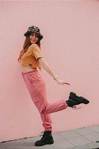 Calça Gigi Hadid Rosé