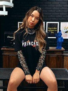 Camiseta Butterfly Princess Preta