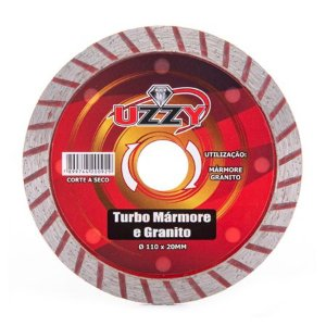 Disco Diamantado Turbo Mármore e Granito