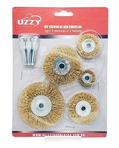 Kit Escova de Aço Circular