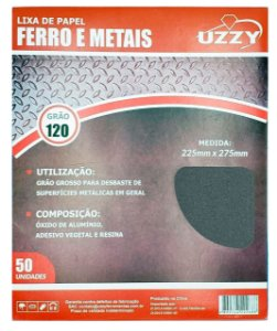 Lixa para Ferro e Metal