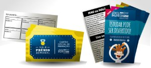 Kit Cartões (Vale Prêmio e Dicas)