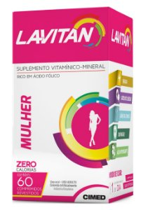 LAVITAN MULHER C/60 CPS CIMED