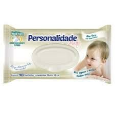 TOALHAS UMEDECIDAS PERSONALIDADE BABY C/100