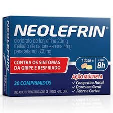 NEOLEFRIN 20COMPIMIDOS
