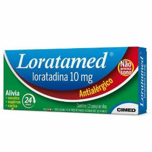 LORATAMED 10MG 12COMP