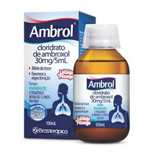 AMBROL XAROPE ADULTO 100ML BRASTERAPICA