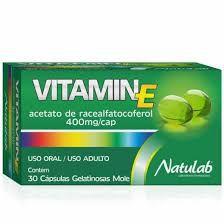 VITAMIN E 400MG C/30 CPS NATULAB