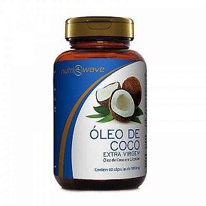 ÓLEO DE COCO NUTRIWAVE Extra Virgem 1000mg