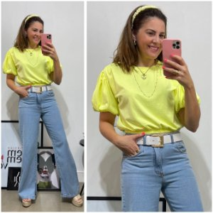 Blusa Cropped neon