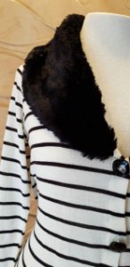 Blusa tricot Gola Pelo