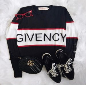 Blusa Tricot Givency