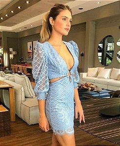 Vestido Cloude Blue