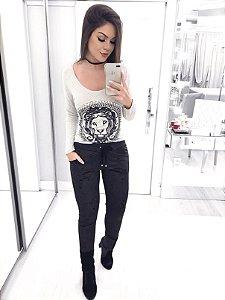 T-shirt lion luxo