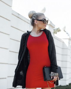 Cardigan tricot black