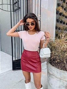 T-shirt stars lurex rosê