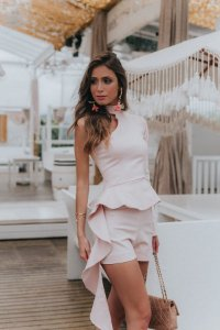 Shorts alfaiataria rosê