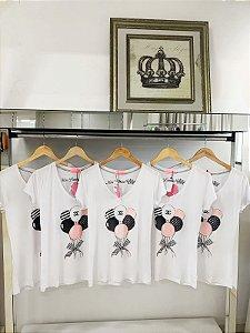 T-shirt balões chanel