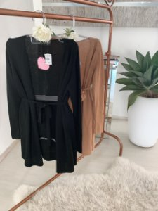 Dress Kimono black