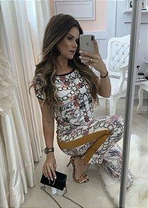 Calça Versace couro
