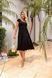 Dress midi black