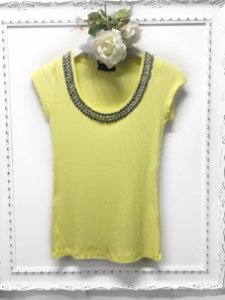 Tee Rib Luxo Yellow