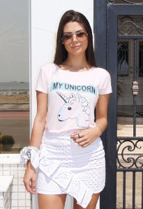 T-shirt My Unicornio