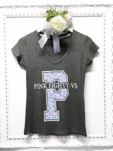 T-shirt Pink Eighty