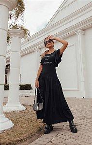 Vestido Tomorrow Camadas Black
