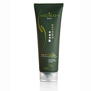 Shampoo de nutrição - Fortalece Cabelo - Nano Amazon - Sem sal - Andirah Brasil