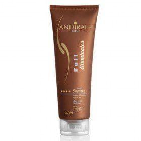 Shampoo de Hidratação - Para cabelo Fraco e Quebradiço – Full Illuminated - Sem Sal - Andirah Brasil