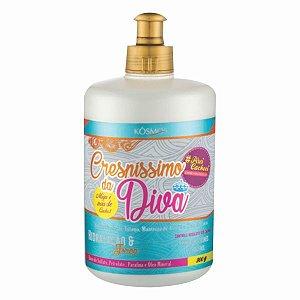 Leave In  Hidratação Natural - Crepissimo da Diva