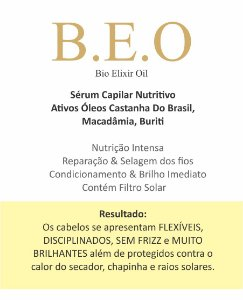 Serum Capilar Nutritivo | B E O Bioelixir Oil 60 mL