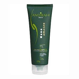 Leave In para cabelo -  Anti Frizz - Protetor Térmico - Nutrição - Fortalece Cabelo Danificado - Nano Amazon - Andirah Brasil