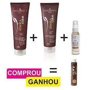 Combo Anti Envelhecimento + Serum Nutritivo Capilar + Brinde (1 und Ampola Hidratação)