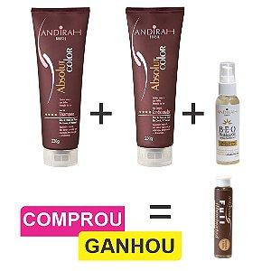 Combo Anti Envelhecimento + Serum Nutritivo Capilar + Brinde (Ampola Hidratação)