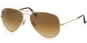 Óculos De Sol Ray Ban Aviador Rb 3025L 001/51 58