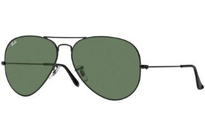Ray-Ban Aviator Large Metal II RB3026L L2821 62 - Preto/Verde Clássico G-15
